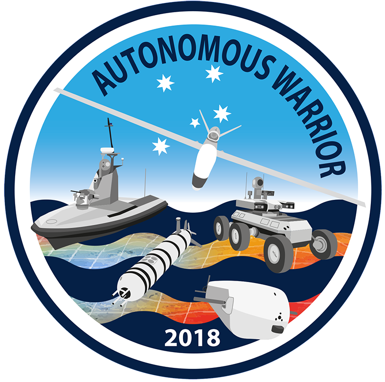 Autonomous Warrior 18 Logo